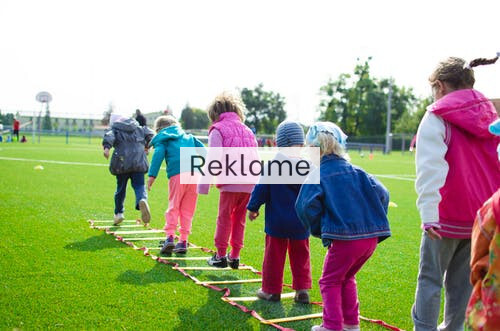 Gør en sjov leg til en mulig sportsgren for dit barn